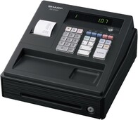 Sharp XE-A107 Cash Register - Black