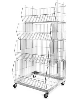 Stacking Baskets 580mm